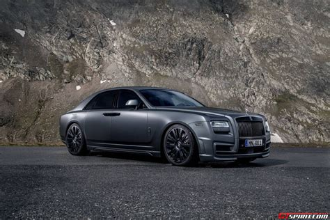 spofec rolls royce official rolls royce ghost by spofec gtspirit