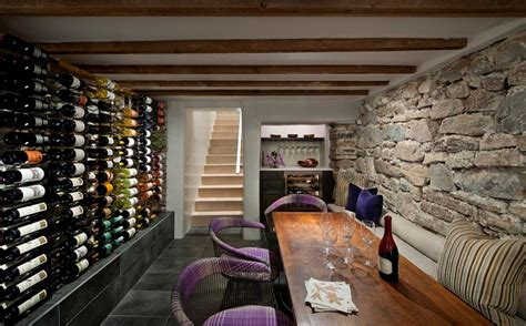 basement wine cellar wine cellar mediterranean with clean