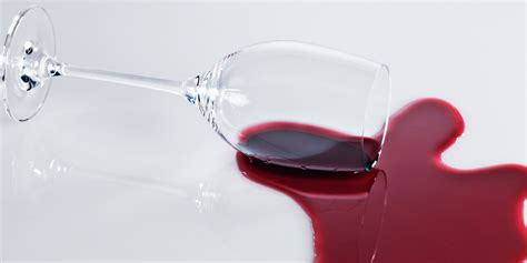red wine spill on couch this surprising ingredient gets red wine stains out of any