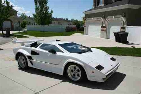 automobile air conditioning repair 1986 lamborghini countach auto manual purchase used lamborghini countach kit car replica in salt lake city utah united states for