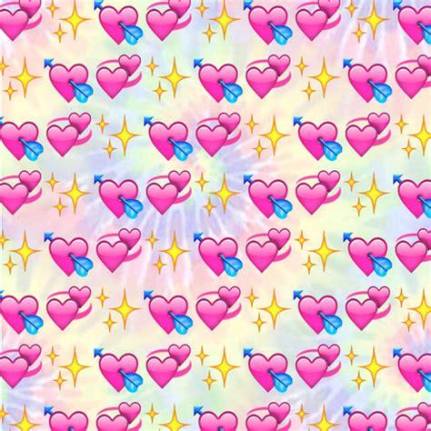 emoji wallpaper pink emoji background colour pink purple blue green tumblr