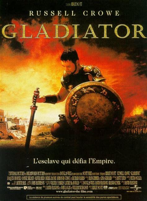 film gladiator bande annonce affiche et photos gladiator