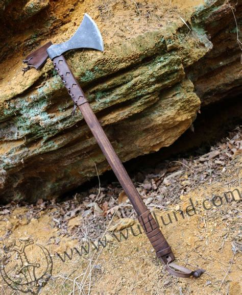 viking war axe axes forged war hammers pole weapons and maces