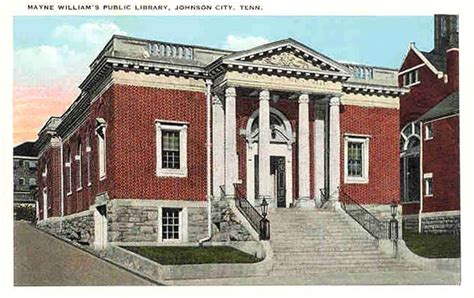 vintage postcards johnson city tennessee historic