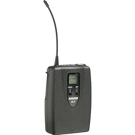 Bodypack V Synoptic 3 0 shure ulx1 uhf bodypack transmitter channel g3