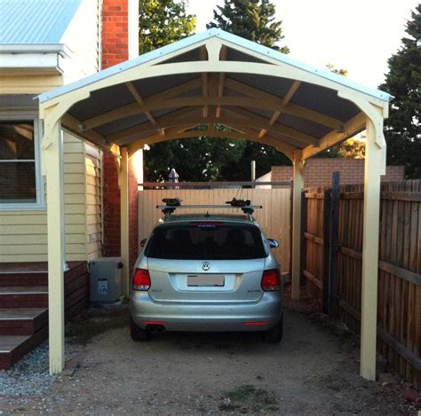 One Car Carport by Carports Timber Outdoor Living