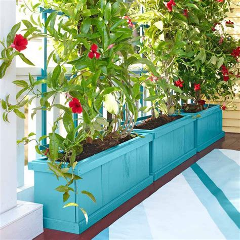 Planter Box Plants Ideas by How To Make A Planter Box With A Trellis Woodworking
