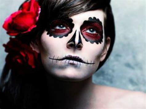 maquillaje para hombres esqueleto maquillaje halloween esqueleto calavera mexicana