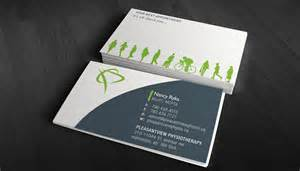physiotherapist business card physiotherapy business card design ideas sles