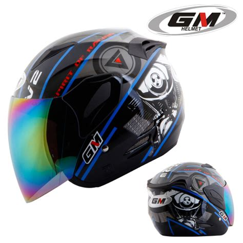 Helm Gm Fighter Prime Helm Gm Fighter V2 Pabrikhelm Jual Helm Murah