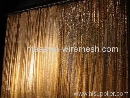 106 Curtain Panels Shimmer Curtain From China Manufacturer Masewa Metal Net