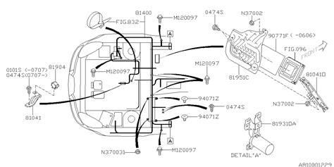 81402xa00a Genuine Subaru Wiring Harness Center Bhd