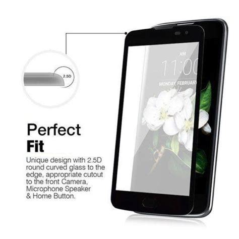 Lp Tempered Glass Lg Stylus 3 3d curved edge cover tempered glass screen protector