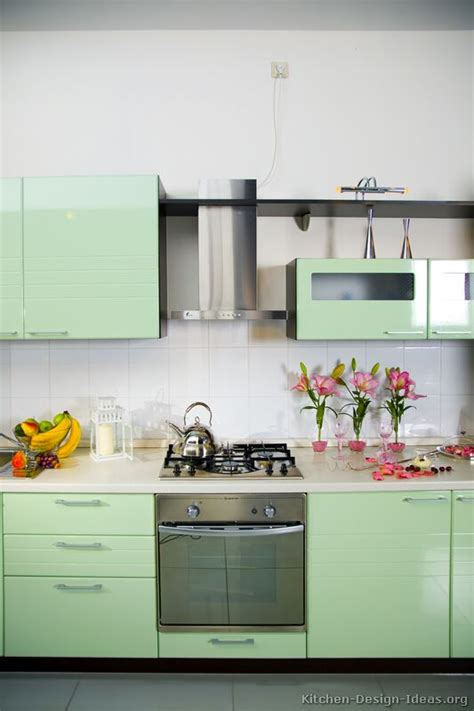 green kitchen cabinets ideas pictures of kitchens modern green kitchen cabinets