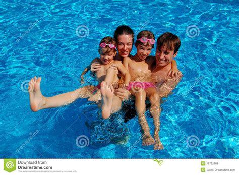Family swimming porn free lesbian