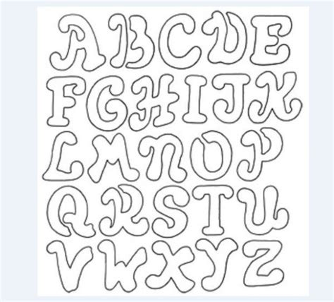 moldes de letras del abecedario para carteleras molde de letras para imprimir artesanato passo a passo
