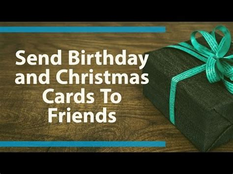 How To Send A Gift Card On Facebook - how to send birthday cards christmas cards and new year crads to facebook friends