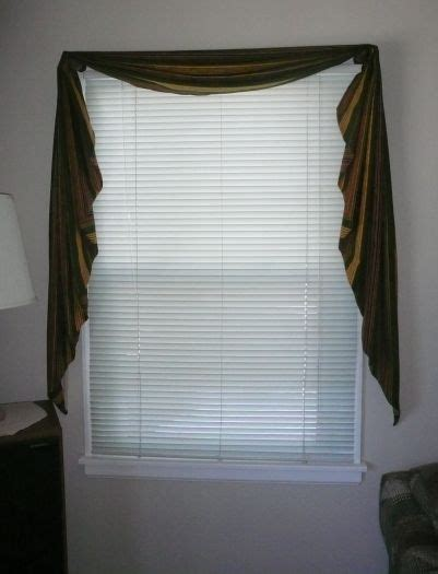 how to sew swag curtains 1000 ideas about valance tutorial on pinterest no sew