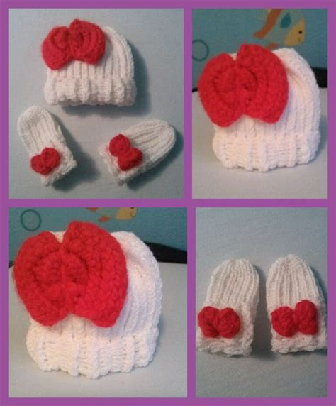 how to loom knit baby mittens newborn hat and mittens loom knitting loom knitting