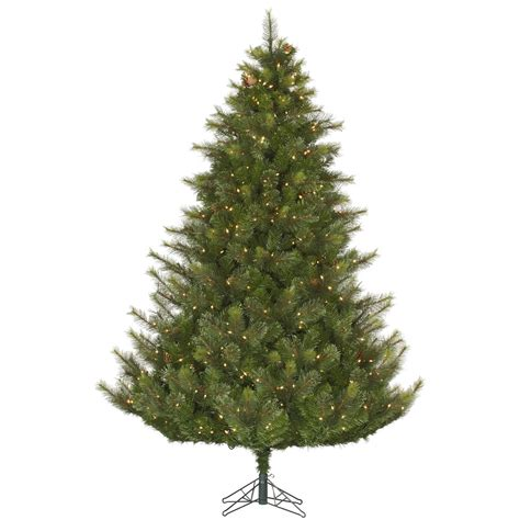 9 modesto pine christmas tree pre lighted dura lit lights