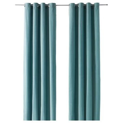 turquoise curtains ikea 2 panels cotton velvet turquoise curtains 98 quot long