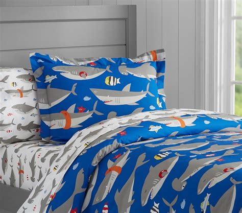 Shark Crib Bedding Shark Duvet Cover Pottery Barn