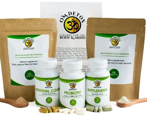 Colon Cleansing Detox Program by Buy 7 Day Detox Colon Cleanse Kit With Probiotics