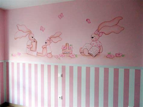 ositos para decorar habitacion bebe murales infantiles de ositos y conejitos para bebe