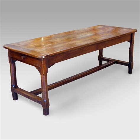 plank kitchen table antique cherry wood dining table refectory table rustic