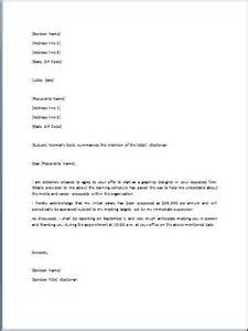 sle offer letter template formal word templates