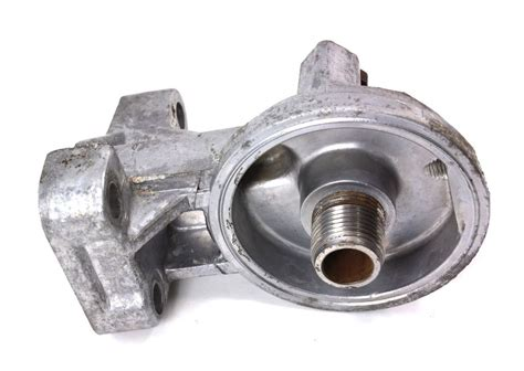 oil filter housing oil filter housing flange vw jetta rabbit scirocco mk1 055 115 417 a carparts4sale
