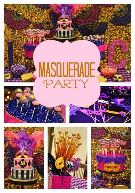 party themes masquerade masquerade birthday party