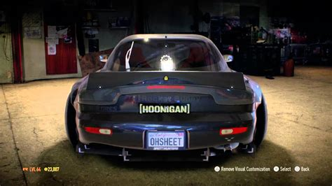 hoonigan rx7 my hoonigan rx7 build wrap and tune