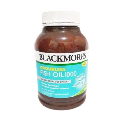 Minyak Ikan Tablet jual rekomendasi seller blackmores odourless fish