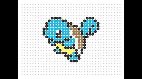 hama bead template printable hama bead squirtle series 2