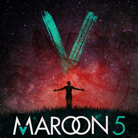 maroon v album maroon 5 album cover by mikee on creativeallies com