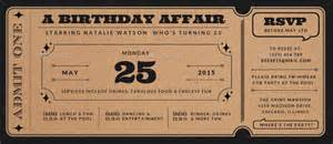 ticket birthday invitation template ticket invitation template 55 free psd vector eps ai