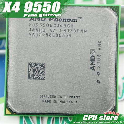 Processor Amd Phenom X4 9500 22 Ghz 1 amd phenom x4 9550 cpu processor 2 2ghz 2m 95w 2000ghz sebatech sales