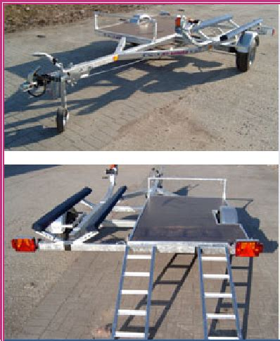 Anh Nger Mieten Jet transport eines atv jetskis auf einem anh 228 nger technik