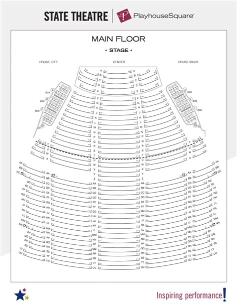 state theater cleveland best seats seating charts playhouse square