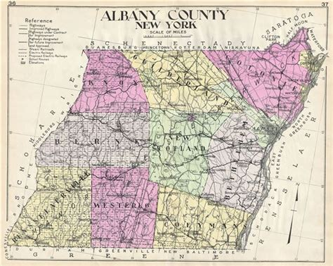map albany ny albany county new york geographicus antique maps