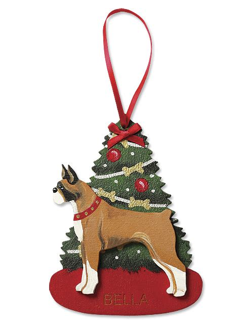 dog christmas decorations dog breed christmas ornaments