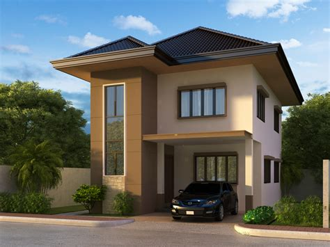 two story house designs two beautiful contemporary house plan amazing