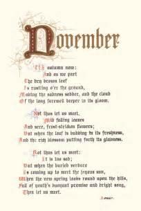 November poem and calligraphy on pinterest