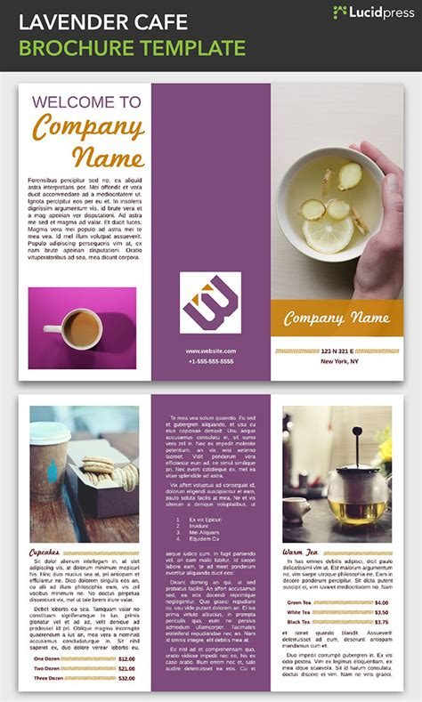 Cafe Brochure Design 21 creative brochure cover design ideas for your inspiration