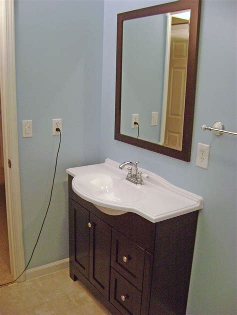 narrow vanities for small bathrooms narrow vanity remodel pinterest vanities bathroom