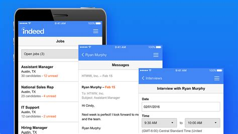 indeed mobile indeed employer app transforms mobile devices into hiring