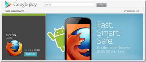 firefox mobile app store other ways to install firefox for android mozilla