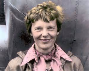 amelia earhart aviation pioneer pilot author 10x8 quot hand