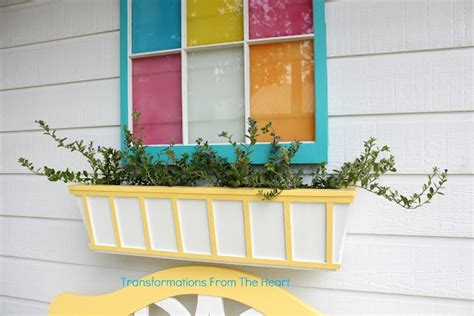 Window Box Planters Diy by Diy Window Box Planter Back Yard